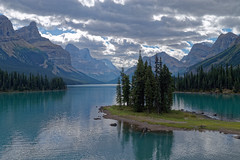 Spirit Island at Maligne Lake, Jasper National Park, Canada (jan_2j) Tags: canada banff nationalparkscanada pentax k1 breath taking breathtakinglandscapes