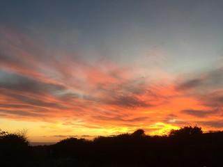 Sunset 🌅 #cornwall #kernow #mountsbay #sunset