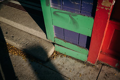 A Thousand Times Since Then (davelawrence8) Tags: 2016 annarbor canoneosm contrast light michigan shadow usa colors green red