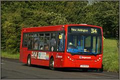 Stagecoach London 36545 (Jason 87030) Tags: lx12djo 314 addington newaddington kentgateway sony ilce alpha a6000 nex bus enviro stagecoach londonbus e200 august 2017 surrey kent london uk england red vehicle transport wheels