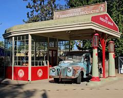 Associated Oil Service Station (ofarrl) Tags: usa california sanjose historypark associatedoilservicestation automotive automobile history 1927 southbay bayarea siliconvalley santaclaracounty