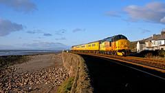 Test Passed (Richie B.) Tags: 1q82 network rail colas parton cumbria english electric british class 37 38421 37219