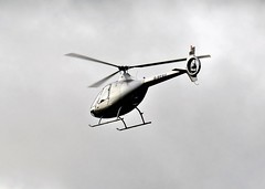 G-PERU GUIMBAL CABRI G2 NEWCASTLE (toowoomba surfer) Tags: helicopter aviation ncl egnt