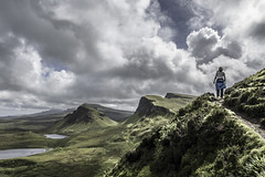 Highland Hike (PetterPhoto) Tags: isleofskye pettersandell petterphoto scotland upredictable weather view views landscapes hike hiking highlands tourism travel summer greens green light quiraing