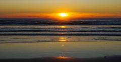 Sunset at Ocean City, Washington (Wayne~Chadwick) Tags: washingtoncoast2017