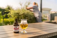 Time to take a break (frankwinkler1969) Tags: duvel beer bier holland niederlande getränk garten