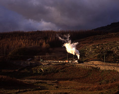 Wet Welsh Winters Day (ralph.ward15) Tags: steam palmerston narrowgauge wales campbellsplatform