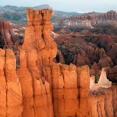 In Canyons 117 (noahbw) Tags: brycecanyon d5000 nikon utah autumn canyon erosion hoodoos landscape natural noahbw rock square stone incanyons
