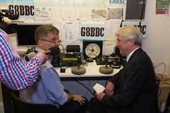 DSCF3290 (chalkie) Tags: g8bbc bbc radioamateur bbcradioamateurgroup broadcastinghouse london radio shortwave vhf lordhall tonyhall directorgeneral bbcdirectorgeneral jonathankempster jimlee