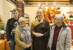 Buddhist Temple Poland (Kevin K Cheung) Tags: bhikshu jin wei parents mom dad brother 9242017 vietnamese buddhist temple warsaw poland chua nhan hoa