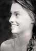 (Cliff Michaels) Tags: photoshop pse9 bw nikon white black blackwhite girl portrait headshot
