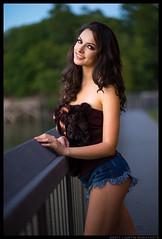 Madlen - My, Oh My (jfinite) Tags: model beauty fashion environmentalportraiture fall autumn shorts brunette