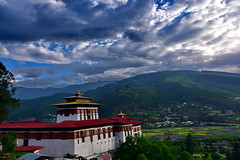 The view of Paro Valley