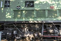 IIirska Bistrica railroad station (rlubej) Tags: notranjska railroad trains