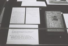 Hound of the Baskervilles (goodfella2459) Tags: nikon f4 af nikkor 50mm f14d lens ilford delta 3200 35mm blackandwhite film analog houndofthebaskervilles sherlock holmes exhibition powerhouse museum sydney book literature letters arthur conan doyle bwfp
