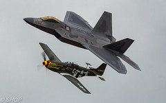 RIAT 2017 Sunday (harrison-green) Tags: f22 raptor f22a raf usaf usafe lakenheath united states royal air force fighter jet stealth suffolk pl outdoor canon 700d sigma 18200mm riat international tattoo 2016 fairford shgp steven harrisongreen vehicle aircraft p51 mustang heritage flight