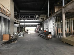 PCC Construction - Fall 2017 - Atrium Lobby, along with Bissell's Hideaway Upper Bridge