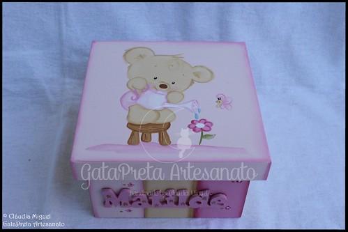 """Caixa de recordações de bebé """"Spring Bear"""""""