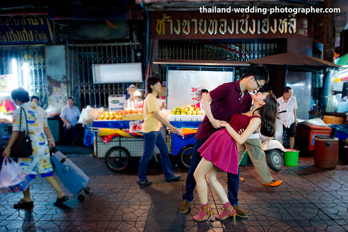 China Town Bangkok Thailand Wedding Photography | NET-Photography Thailand Photographer
