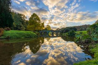 Stourhead cloud reflections