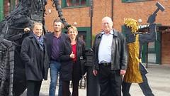 David, Jerry, & Melissa with Igor Zolotov of the Shar Company