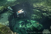 Guys entering to devil's eye (Eunjae Underwater Photography) Tags: florida ccr cave cavediving rebreather eunjaeim diving