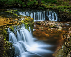 Sgwd y bedol (The Frustrated Photog (Anthony) ADPphotography) Tags: breconbeacons category places riverneath sgwdybedol theelidirtrail travel wales waterfall longexposure river water watercourse creek rocks falls force silkywater waterblur forest woodland pool flow outdoor canon1585mm canon70d canon nature natural woods travelphotography landscapephotography rock tree landscape moss lichen grass