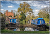 Winter Mooring (bart7jw) Tags: canal narrow boat boats barge autumn fall water england uk canon 700d t5i sigma 18250