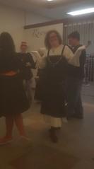 Maria Lemens (jr.) at the Viking House dedication