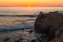 Clear Ball (leakylightbucket) Tags: sunset pescadero beach california coast pacificcoasthighway highway1