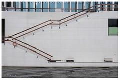 Spreekanal (michaelg.1) Tags: berlin spreekanal bodemuseum fujifilm xt1 geometrie geometry lines waterfront stairs abstracttopography