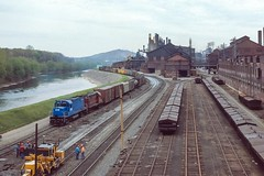 The Times, They are a-Changin' (douglilly) Tags: conrail bethlehem c420