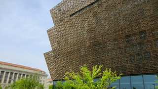 Washington D.C.: Facade of the National Museum of African American History & Culture