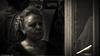 The dry cleaner. (Neil. Moralee) Tags: neilmoralee neilmoraleenikond7200 woman work working dry cleaner cleaning shop sepia black white mono monochrome toned neil moralee nikon d7200 candid dark dim shadow lady mother granny face close portrait germany blackandwhite whiteandblack bw bandw