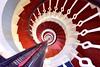 Spiral staircase, Buchan Ness lighthouse (iancowe) Tags: buchanness buchan ness lighthouse boddam peterhead stair staircase spiral circular top stevenson nlb northernlighthouseboard aberdeenshire scotland scottish georgian coast coastline architecture round