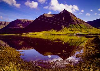 Landscape Iceland. Reykjavik,