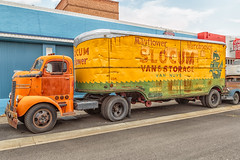 Dodge Cabover Tractor (D E Pabst Photography) Tags: truck tractor historic dodge classic semitrailer automotive fruehauf