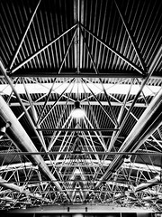 Tubular structure. (Massimo Virgilio - Metapolitica) Tags: architecture abstract monochrome blackandwhite exploration industrial city urban