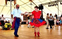 Old dancing couple (Photoscriber) Tags: suburban midwest dancing couple dance festival germanvillage october columbus ohio canon 350d rebelxt oktoberfest german village