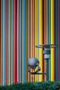In the spotlight (Julien CHARLES photography) Tags: defacto france hdr ladefense ladéfense ladefensedistrict lemoretti moretti raymondmoretti tour tourmoretti art cheminée colors couleurs lamp lampadaire lamppost lines streetart