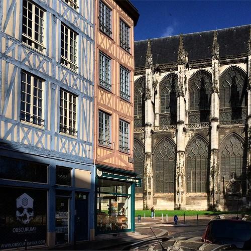 #Rouen #colombages #abbatialesaintouen #obscurum