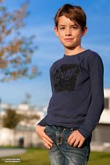 Portrait (Loop van Dike) Tags: portrait people human man outdoor model kid boy mensch kind junge porträt autumn herbst sigma50mm