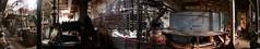 Straits of Mackinac Shipwreck - Before the Sinking (Rick Drew - 25 million views!) Tags: ship wreck shipwreck straits lake michigan dock abandoned decay rust rusty boat ferry engine pano panoramic stitched nikon 995