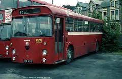 Ribble 476 800705 Morecambe [jg] (maljoe) Tags: ribble rms ribblemotorservices nationalbuscompany nbc leyland leylandleopard