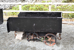 Slate Waste Wagon (R~P~M) Tags: wales cymru uk unitedkingdom greatbritain train railway llechwedd wagon slate quarry mine narrowgauge blaenauffestiniog gwynedd