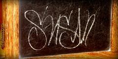 (timetomakethepasta) Tags: chalk letters chalkboard