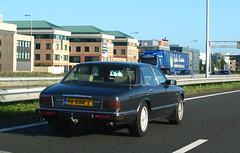 1991 Jaguar XJ6 Sovereign 3.2 (XJ40) (rvandermaar) Tags: 1991 jaguar xj6 32 xj40 xj jaguarxj jaguarxj6 jaguarxj40 sidecode7 90rbr2 sovereign rvdm