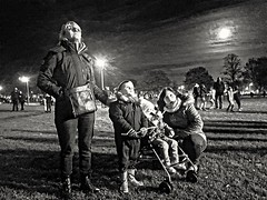Watching the lights in the sky (ska 1963) Tags: wife extendedfamily grandchildren buggy fireworks moon night anticipation anticipating excited excitement guyfawkes bonfirenight adobe picasa 500px photobox photo photography flickr google yahoo facebook explore image images lightbox mymedia media socialmedia cool toolwiz autofocus focus search creative icloud myphoto myphotos photostream pics pix blog theracecourse racecourse england gb uk northamptonshire northampton flickrunitedaward