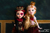 Queens (Mundo Ara) Tags: lizzie hearts apple white legacy day ever after high doll mattel