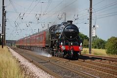 Coast to Coast Express (paul_braybrook) Tags: 45305 lms class5 black5 steamlocomotive copmanthorpe york northyorkshire railtour railway trains scarborough liverpool